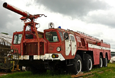 Airport Fire Fighting Vehicle AA-60 (MAZ -7310) 160.1 - 2