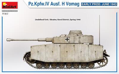 Pz.Kpfw.IV Ausf. H Vomag. EARLY PROD. JUNE 1943 - 2