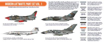 Modern Luftwaffe Paint Set Vol.1, sada barev - 2