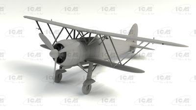 Fiat CR. 42 LW Falco, WWII German Luftwaffe Ground Attack Aircraft - 2