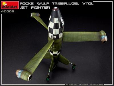 FOCKE WULF TRIEBFLUGEL VTOL JET FIGHTER - 2