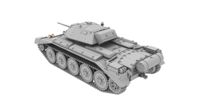 Crusader Mk.II British Cruiser Tank - 2