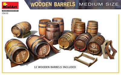 Wooden Barrels - 2