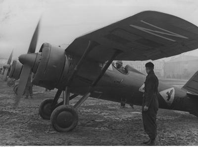 PZL P.11a - Polish Fighter Plane - 2