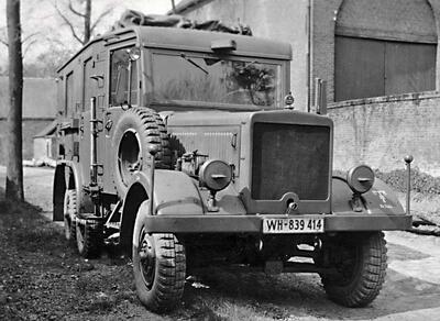 Funkkraftwagen Kfz.62 (Radio truck) - 2