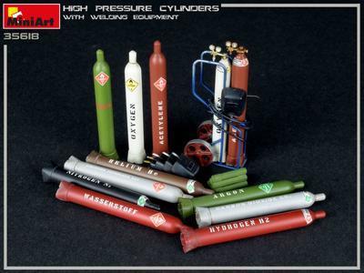 High Pressure Cylinders w/Wlding Equipment - 2