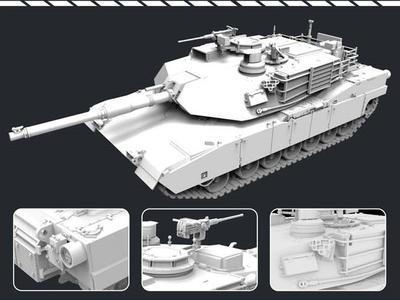 M1A2 SEP Main Battle Tank - 2