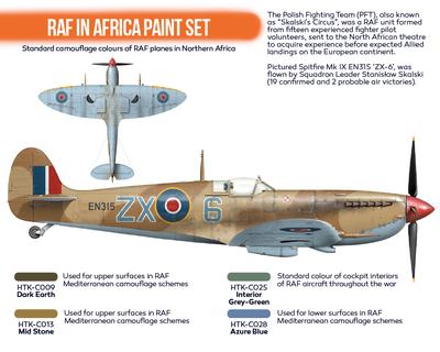 RAF in Africa Paint Set, sada barev - 2