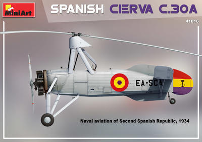 SPANISH CIERVA C.30A - 2