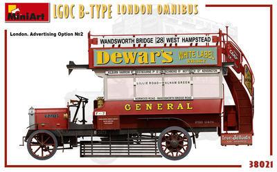LGOC B-Type London Omnibus - 2