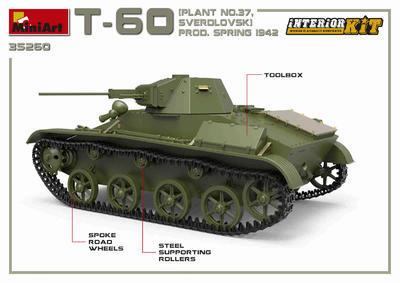 T-60 Plant N.37 Sverdlovsk Prod. Spring 1942 - 2