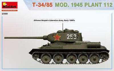 T-34/85 MOD. 1945. PLANT 112 - 2