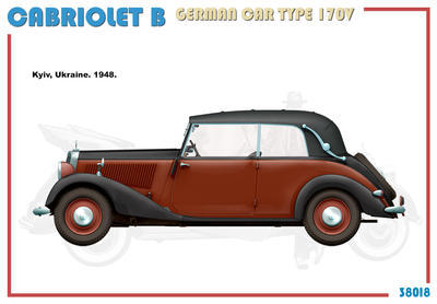 Cabriolet B Type 170V German Car  - 2