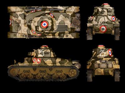 Lekki Czołg H35 - wersja wczesna - 2