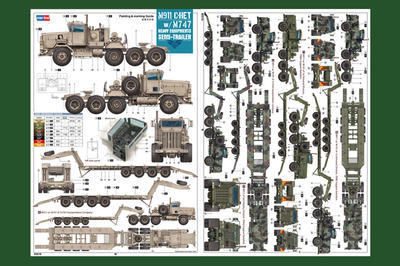 M-911 C-HET w/M7 47 Heavy Eqipments Semi-Trailer - 2