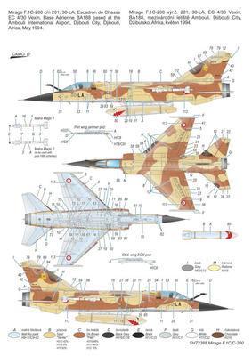 """Mirage F.1C/C-200 """"Arnée de ´l Air´ - 2"""