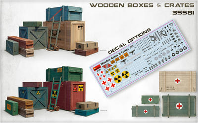 Wooden Boxes & Crates - 2