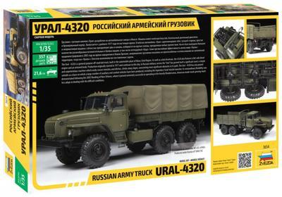Russian Army Truck Ural - 4320 - 2