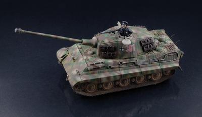 Sd.Kfz. 182 Tiger II, Warlord games, 1:56  - 2