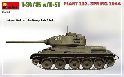 T-34/85 w/D-5T PLANT 112. SPRING 1944 - 3