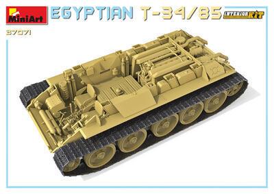 EGYPTIAN T-34/85. INTERIOR KIT - 3