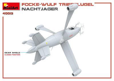 Focke -Wulf Triebflugel Nachtjager - 3