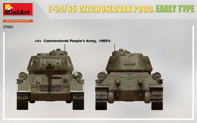 T-34/85 CZECHOSLOVAK PROD. EARLY TYPE - 3
