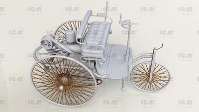 Benz Patent - Motorwagen 1886 - 3