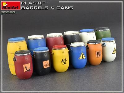 Plastic Barrels & Cans - 3
