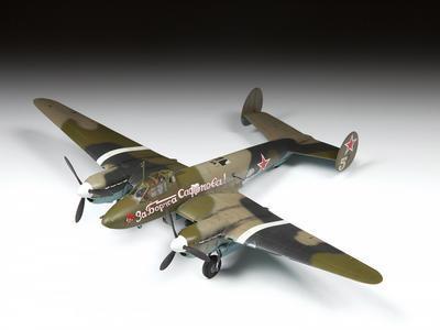 Soviet Dive Bomber Petlyakov PE-2 - 3