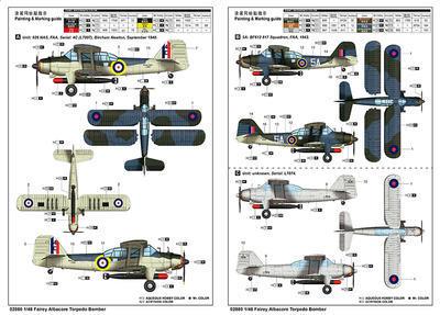 Fairey Albacore Torpedo Bomber - 3
