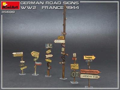 Road Sings WW2 North Africa - 3