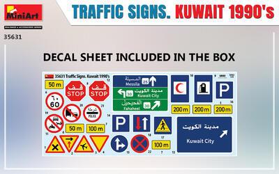 TRAFFIC SIGNS. KUWAIT 1990's - 3