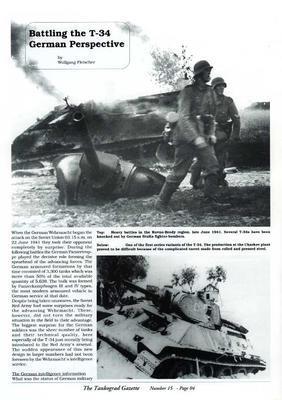 Battling the T-34 on the Eastern Front - The Tankograd Gazette 15 - 3