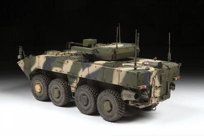 Russian 8x8 Armored Personnel Carrier Bumerang - 3