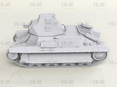 FCM 36, WWII French Light Tank - 3