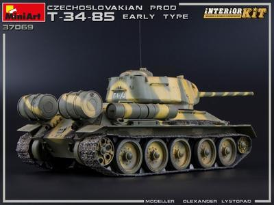 T-34/85 Czechoslovak Production Early Type - 3