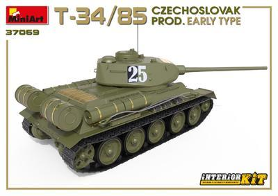 T-34/85 Czechoslovak Production Early Type - 3