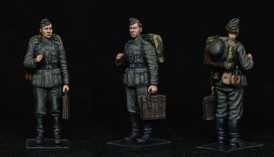 German Train Station Staff 1930-40s  - 3