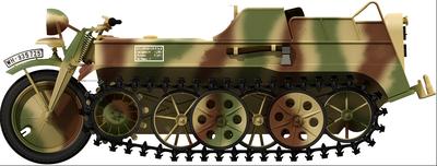 Kleines Kettenkraftrad Sd.Kfz.2 - 3