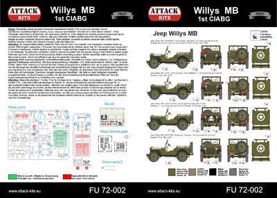 Willys MB 1st CIABG - 3