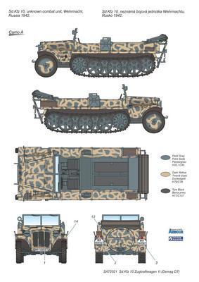 Sd.Kfz 10 Zugkraftwagen 1t (Demag D7) - 3