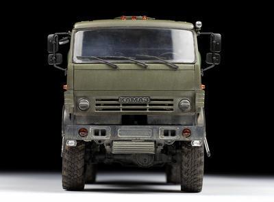 "Russian Three Axle Truck K-5350 ""Mustang"" - 3"
