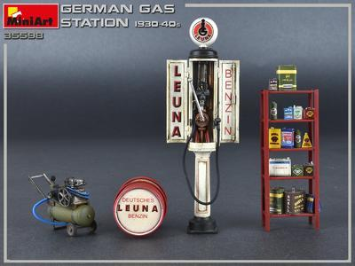 German Gas Station 1930-40s - 3