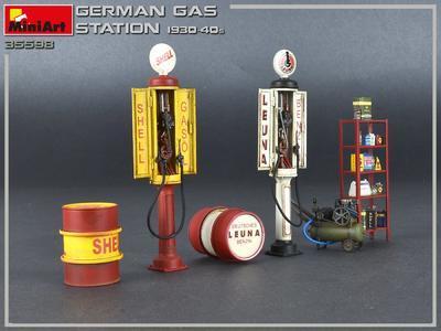 German Gas Station 1930-40s - 3