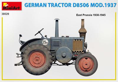 GERMAN TRACTOR D8506 MOD. 1937 - 3