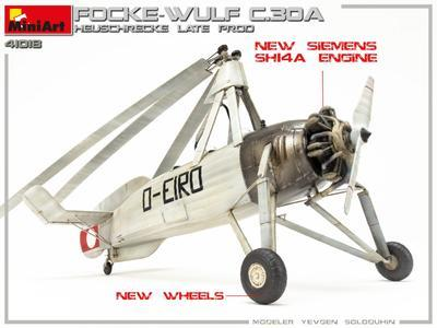FOCKE-WULF FW C.30A HEUSCHRECKE. LATE PROD - 3