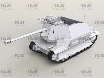 Marder I on FCM 36 base, WWII German Anti-Tank Self-Propelled Gun   - 3
