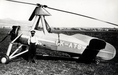 AVRO Cierva C.30A Civilian Service: OK-ATS Baťa - 3