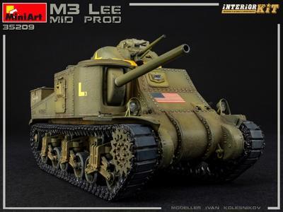 M3 LEE MID PROD. INTERIOR KIT - 3